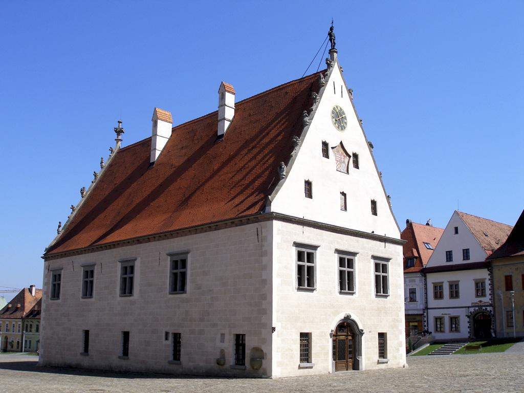 Goticko-renesančná radnica Bardejov