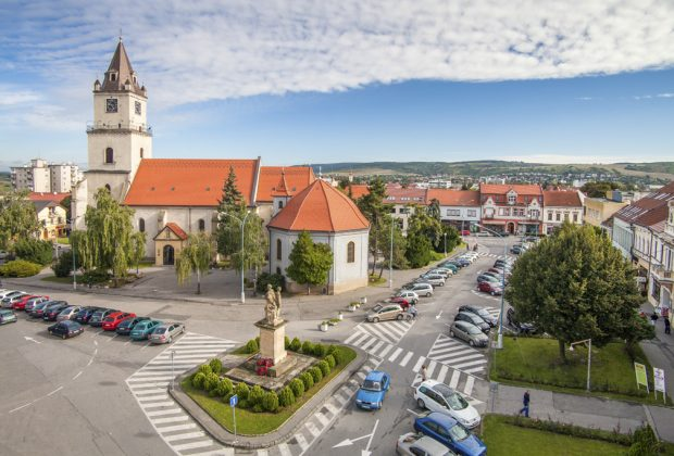 Fraštacké leto v Hlohovci, mesto Hlohovec