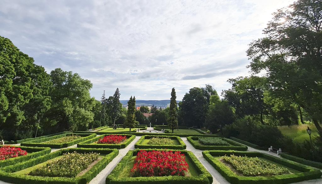 Fraštacké leto v Hlohovci, zámocká záhrada