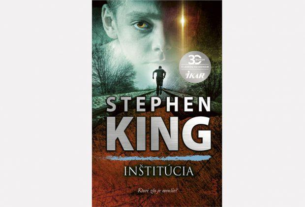 Stephen King a jeho strašidelná Inštitúcia, vydavateľstvo Ikar, kniha