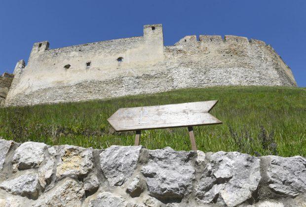Sladký víkend na hrade Beckov, nedobytný strážca Považia