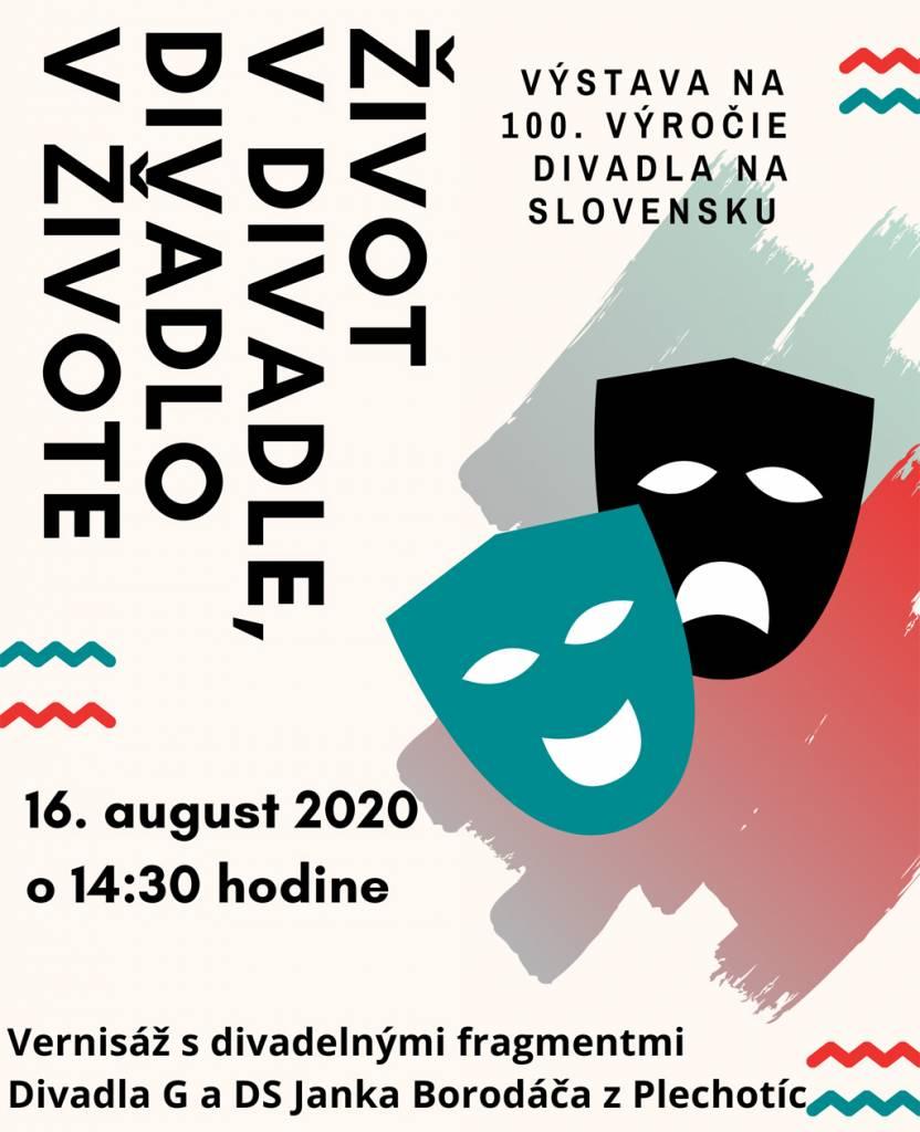 Život v divadle, divadlo v živote, Trebisovske muzeum