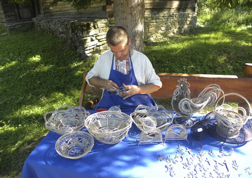 Drotári, drotári v tom našom chotári, Drotár Róbert Hozák z Milošovej, Kysucke muzeum v Cadci