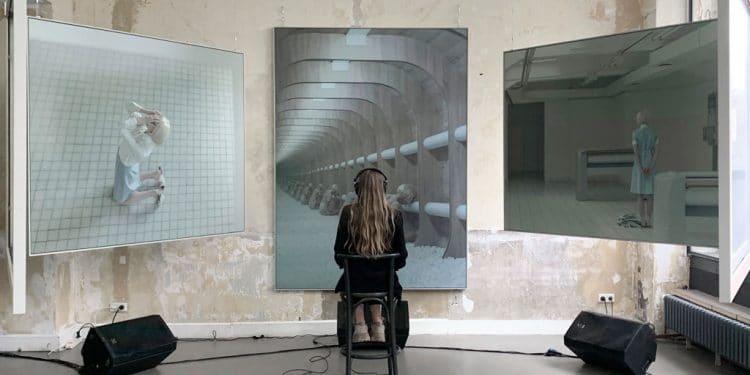 Festival Sensorium predstaví významné osobnosti digitálnej kultúry, Inštalácia Evelyn Benčičovej, galeria SNG