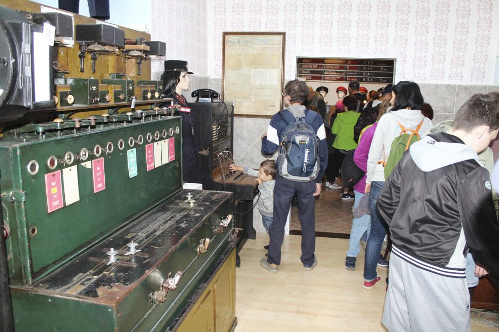 Obľúbené podujatie Rajecká Anča má už 10 rokov, Múzeum dopravy Rajecké Teplice 2