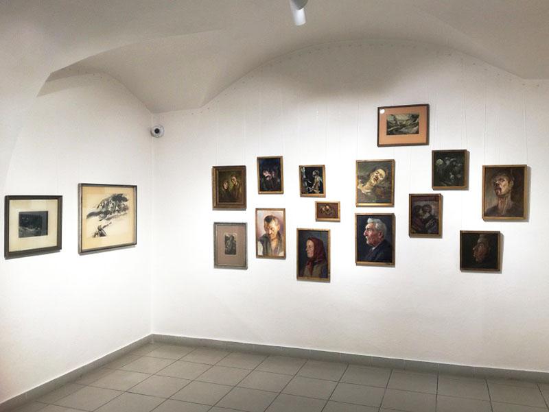 Ctibor Belan - 100. výročie narodenia, pohľad do výstavnej siene