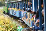 Detska zeleznica, Maratónsky vlak, Bohatá vlaková jeseň vás odvezie do praveku, za dobrým vínom, na hrad i prírodnými krásami