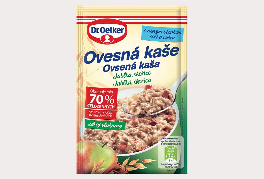 Dr Oetker prichádza s novou a vylepšenou receptúrou obľúbených ovsených kaší Dr_Oetker_Ovesna kasa Jablka Skorica