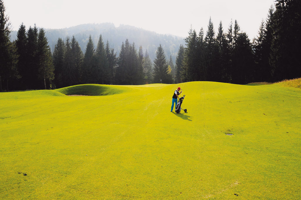 Ešte nehráte golf Golfové ihriská sa zvyčajne nachádzajú v nádhernej prírode, Penati Golf rezort