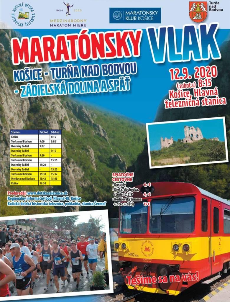 Maratonsky vlak, detska zeleznica