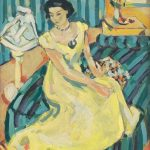 Výstava, Ó šaty, GMB, Eugen Nevan Pred plesom (1929-1949)