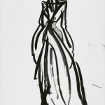 Výstava, Ó šaty, GMB, Pavol Dendis Sands of Time 2019 Kresba Majetok autora