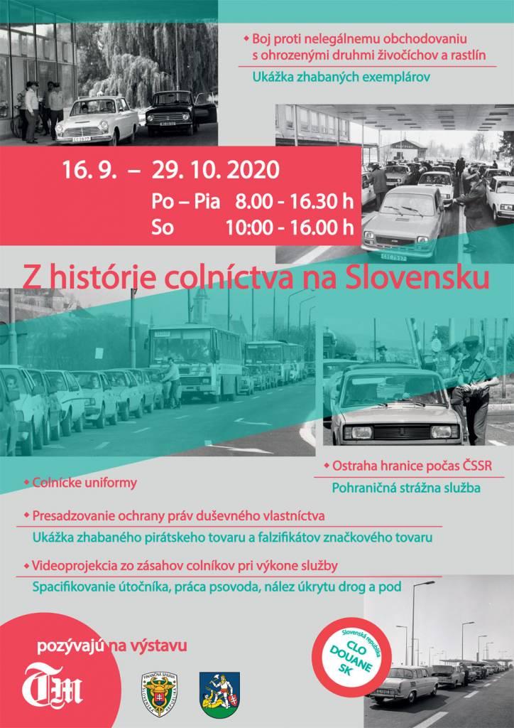 Z histórie colníctva na Slovensku, jedinečná výstava v Tribečskom múzeu, Topoľčany