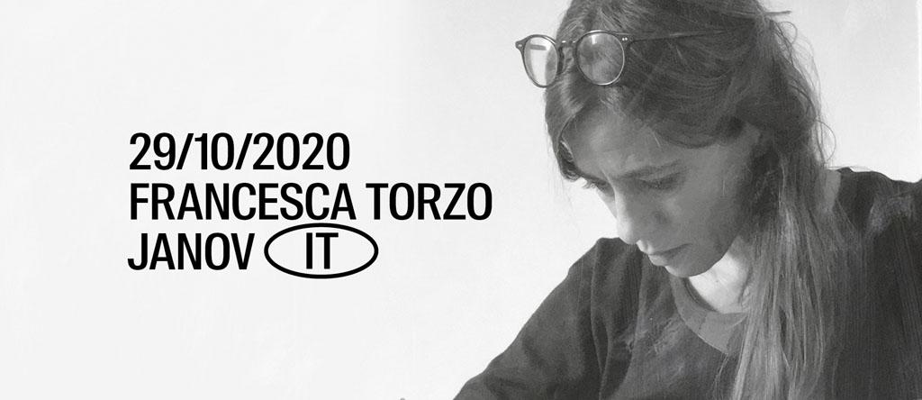29. októbra 2020, FRANCESCA TORZO, Janov, 30. októbra 2020, NA, Bratislava