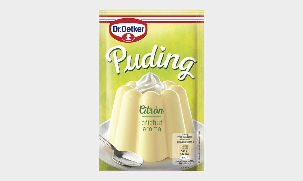 Dr Oetker zvyšuje kvalitu a modernizuje obľúbený rad pudingov, Dr Oetker Puding_ Citron Prichut 37g