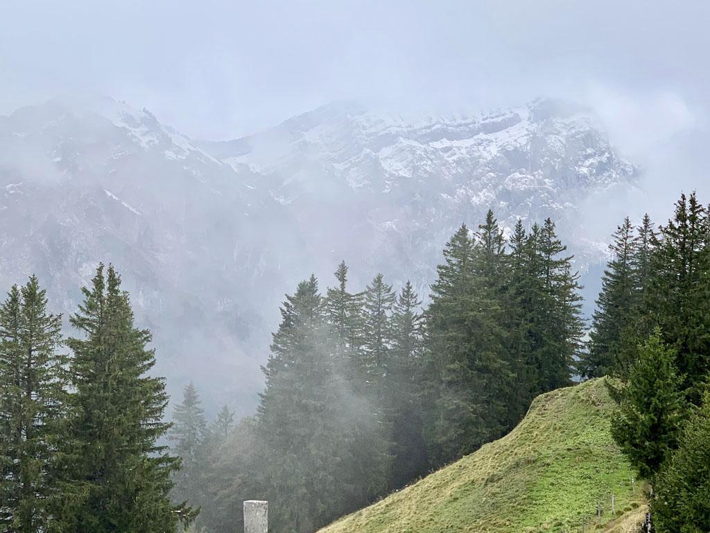 Sneh, blato, reťaze a 3-hodinové kolečko s prevýšením okolo 700 m, Zahorak na cestach