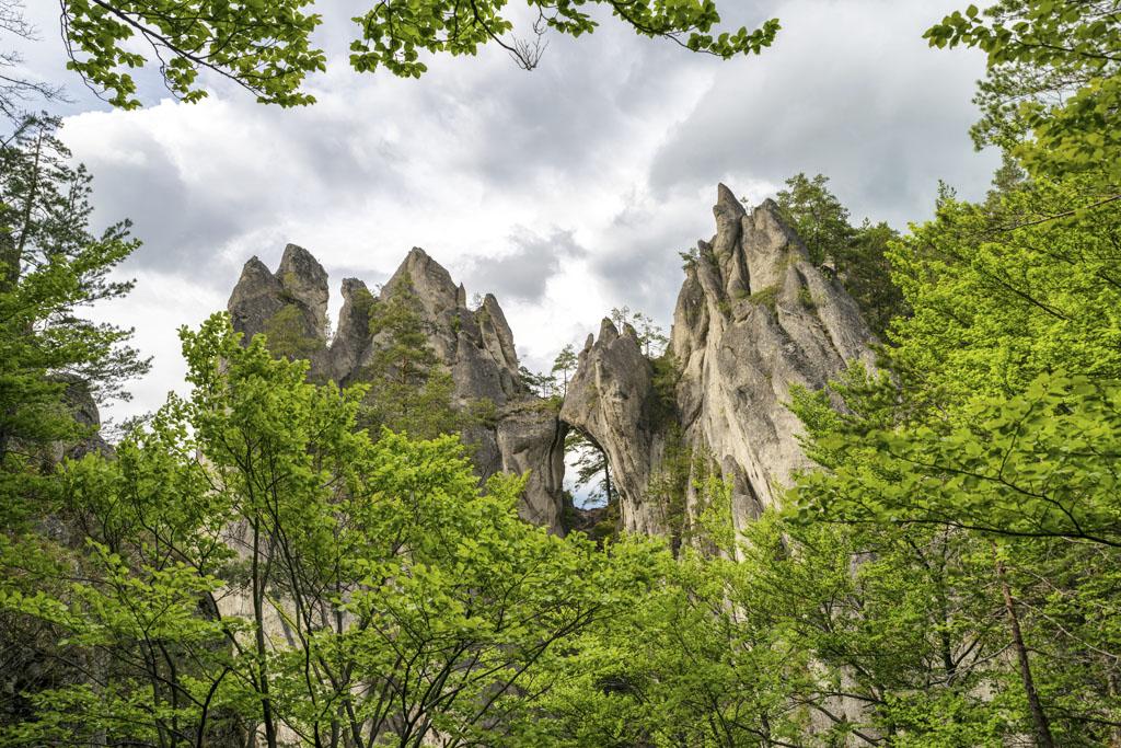Zažite jeseň v Žilinskom kraji, Súľovské skaly