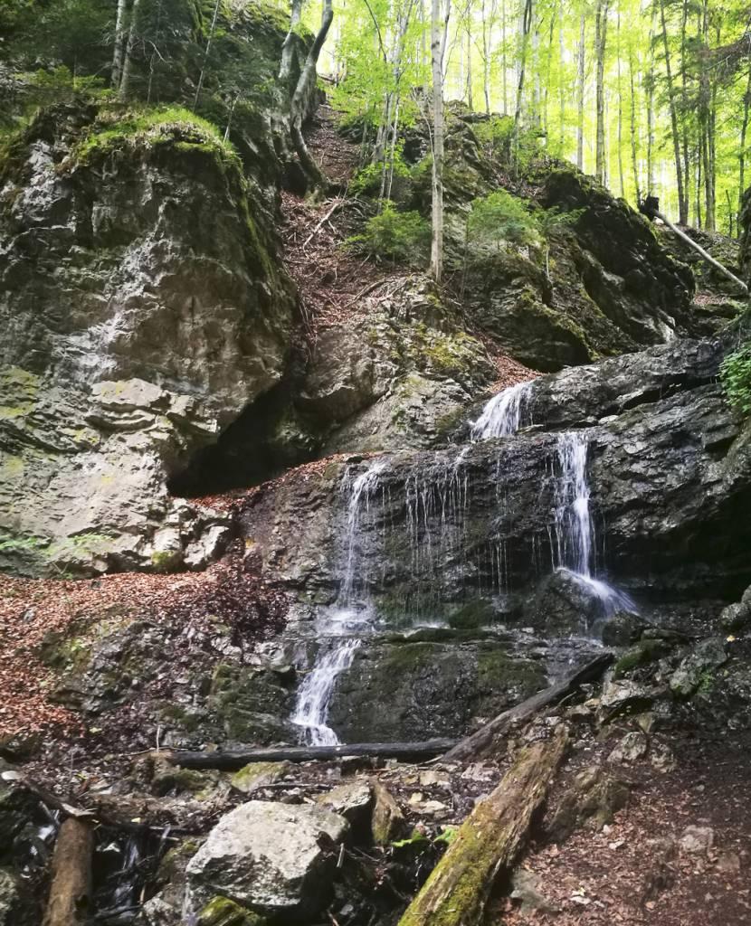 Zažite jeseň v Žilinskom kraji, Vodopád v Došnej