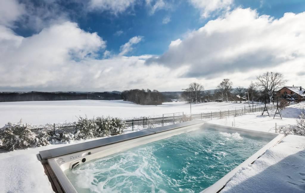Ako vznikla prvá vírivka Už starovekí Rimania si užívali prvé wellness, Bazény Swim Spa USSPA, bazén s protiprudom