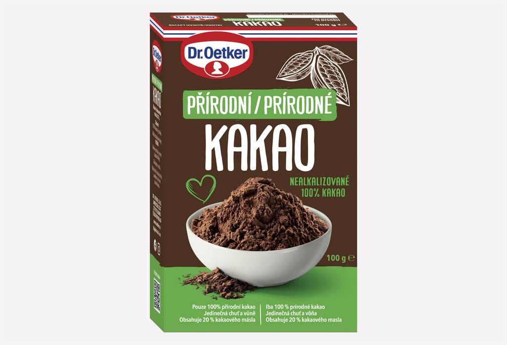 """Dr Oetker Prirodne kakao, Predstavujeme vám """"čierne zlato"""" od Dr. Oetker, kakao opantá vaše zmysly!"""
