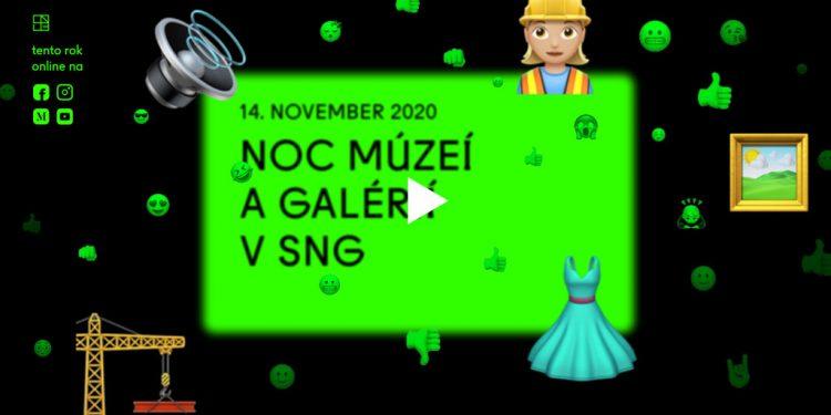 SNG | Noc múzeí a galérií 2020 v SNG Bratislava on-line!