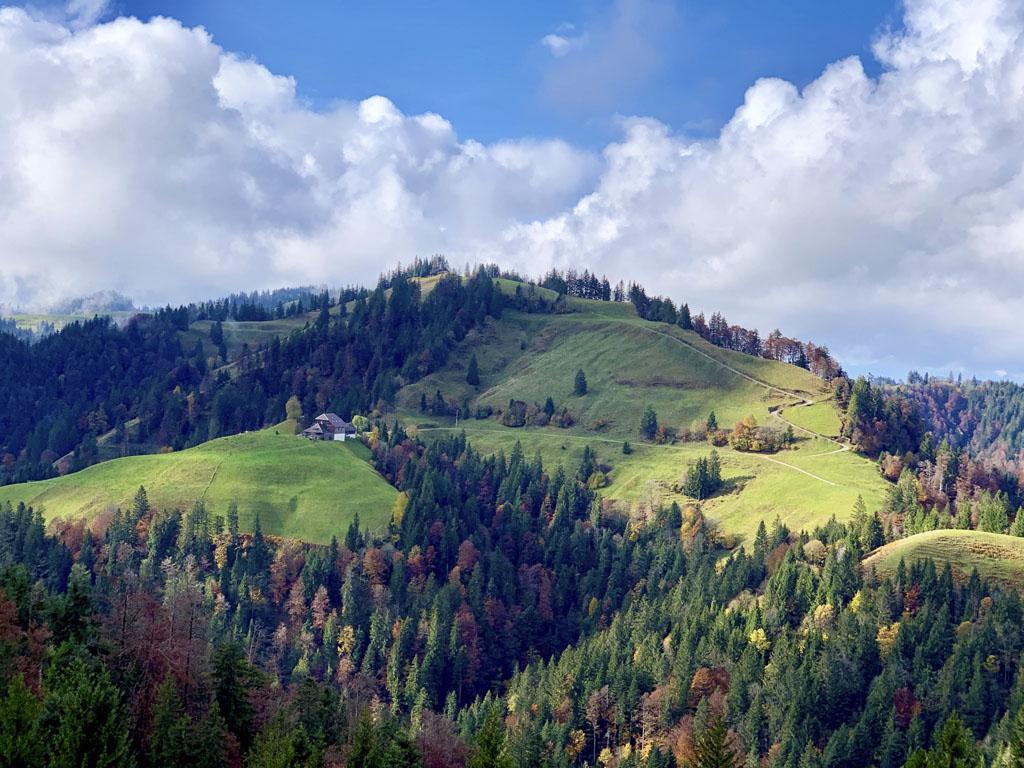 Záhorák na cestách VI, región Entlebuch, Švajčiarsko
