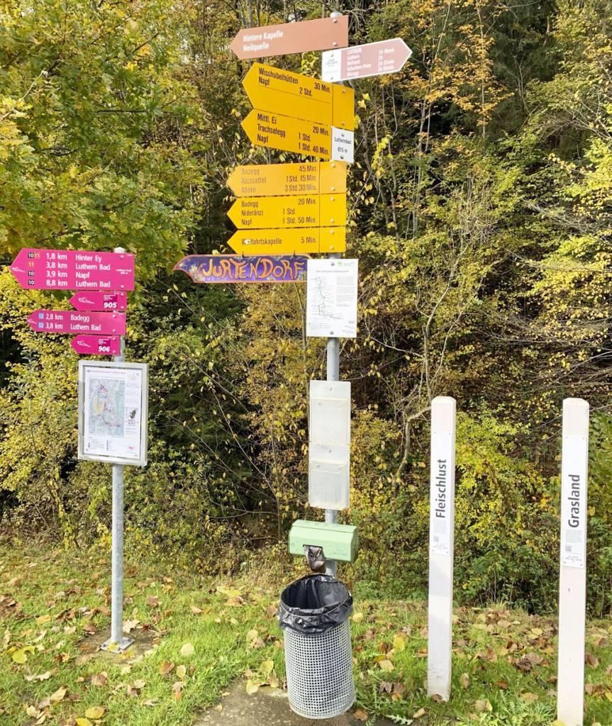 Napf vo dvojici - Záhorák na cestách VI, región Entlebuch, Švajčiarsko