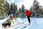 Ide sa na bežky a na sánky! Štiavnické vrchy sú ideálna voľba aj v zime, bežkovanie a sánkovanie