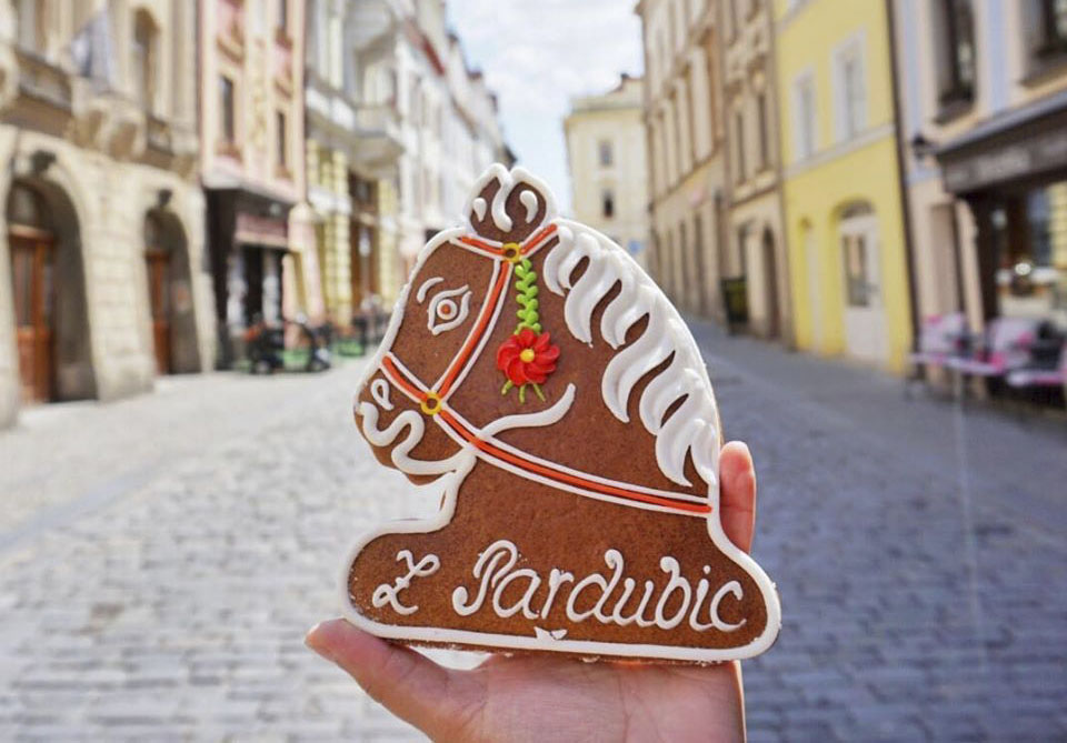 Pardubický perník, mesto Pardubice
