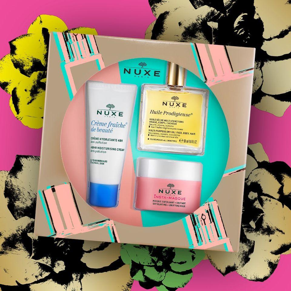 Vianočný darčekový balík exkluzívnej prírodnej kozmetiky NUXE, Nuxe vianocny balicek pre maximalnu hydrataciu