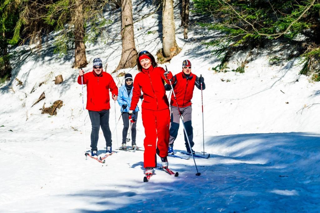 Zima v Banskej Bystrici Bežecké lyžovanie