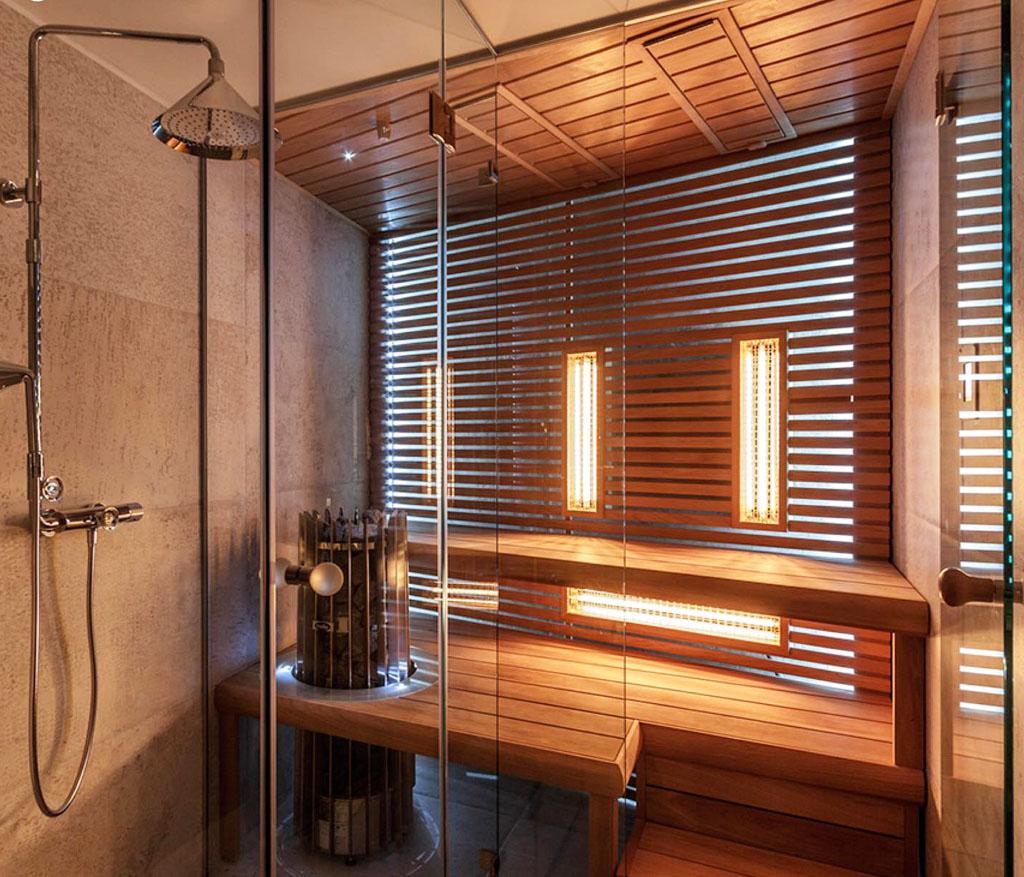 Čo znamená bezpečný oddych doma Vlastná sauna na mieru