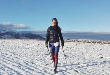 Nordic walking v zime – severská chôdza proti pandémii