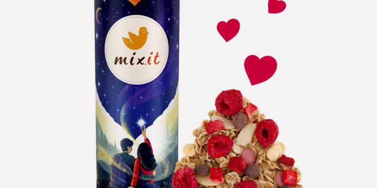 Romantický valentínsky darček bez klišé Mixit ho má, Mixit Valentyn