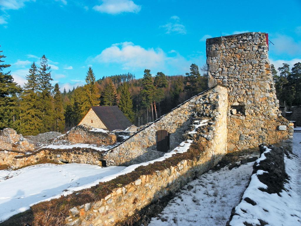 Ruiny kartuziánskeho kláštora na Kláštorisku