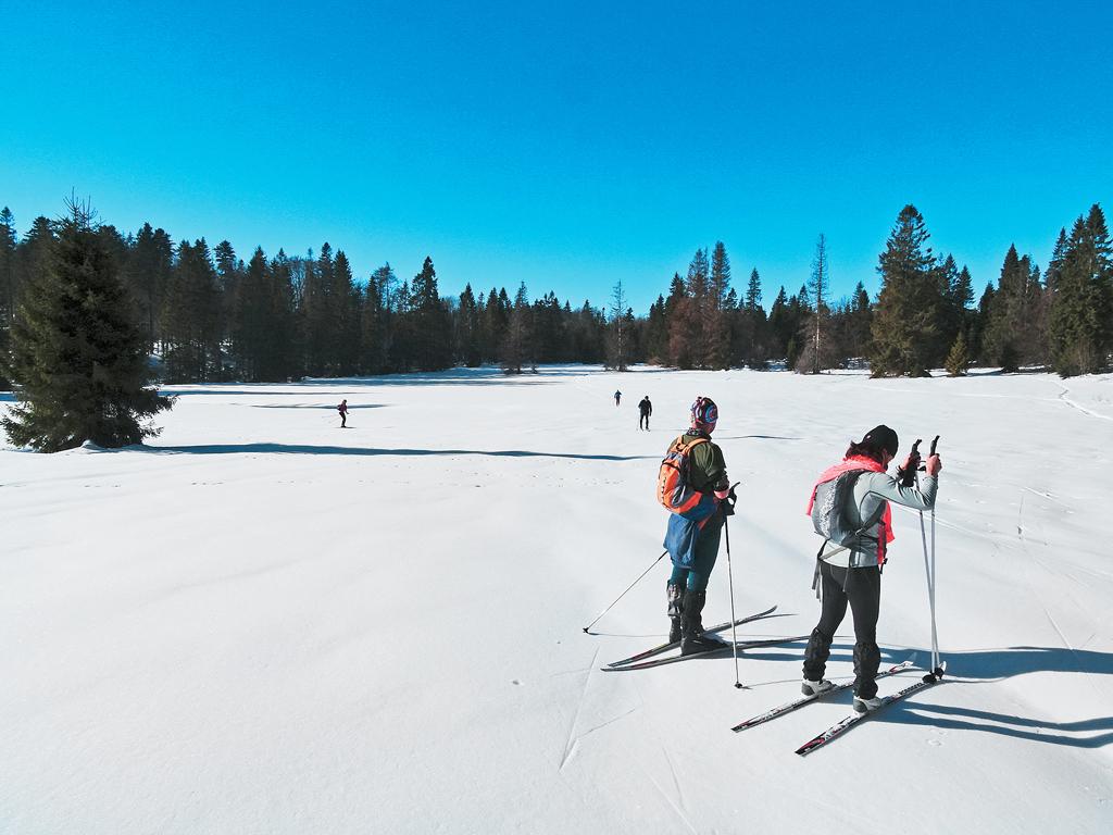 Slovenským rajom nielen na bežkách od Hornádu k Hnilcu, Planina Glac ponúka nenáročné terény na bežkovanie