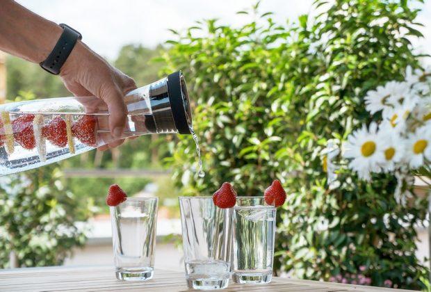 Začnite Nový rok s detoxikáciou organizmu, voda napomáha k detoxikácii