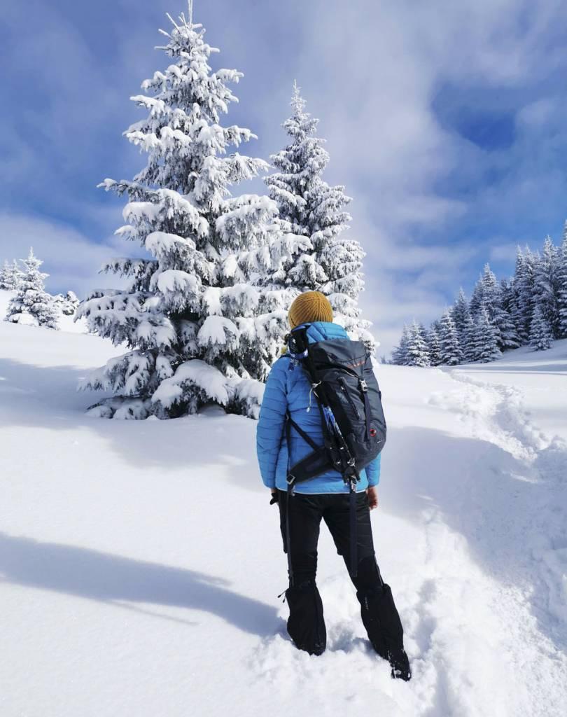 Cesta na Veľký Rozsutec, turistika, zimny vylet