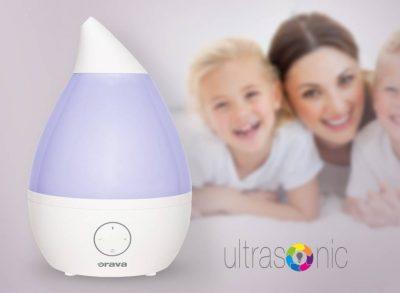 Dajte stopku suchému vzduchu u vás doma a užívajte si výhody aromaterapie, Orava HUM42, zvlhcovac vzduchu