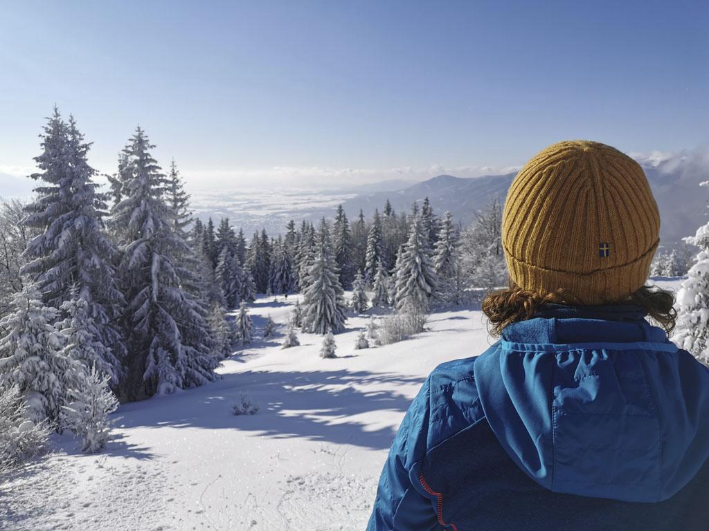 Kľačianska Magura, zimný výlet, turistika