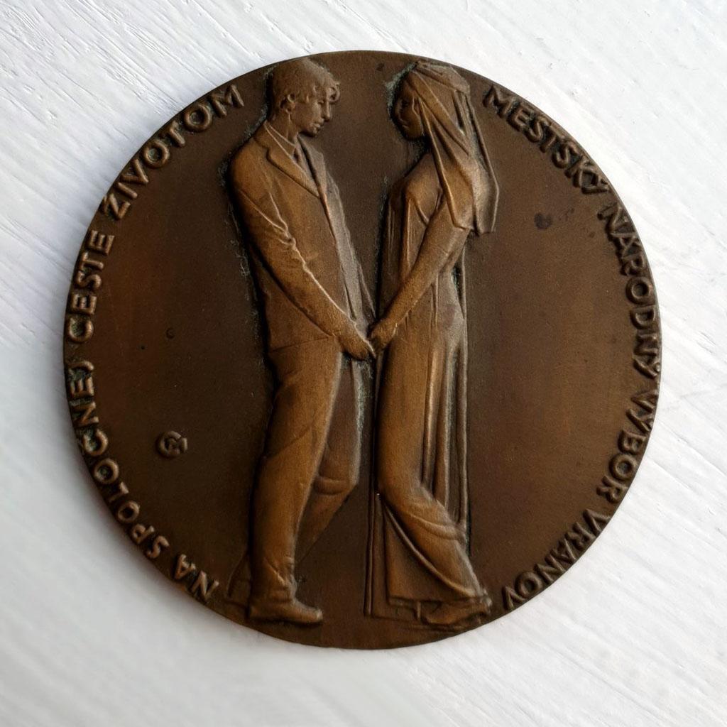Medaila Na spoločnej ceste životom Mestský národný výbor Vranov