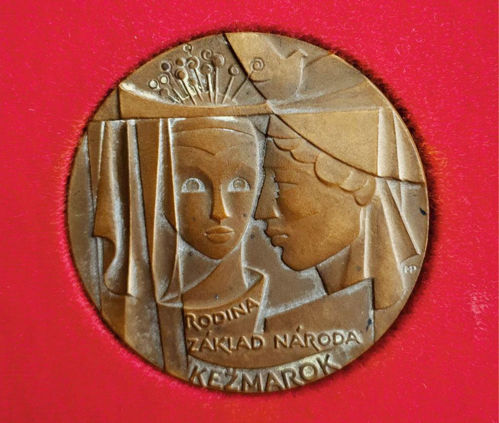 Medaila Rodina základ národa, Kežmarok, Národný týždeň manželstva