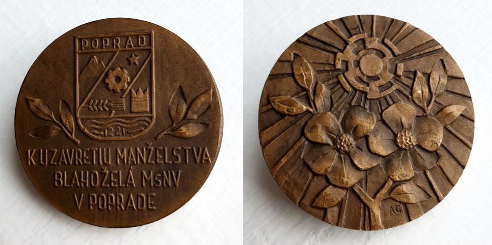 Medaila k uzavretiu manželstva blahoželá MsNV v Poprade, Národný týždeň manželstva