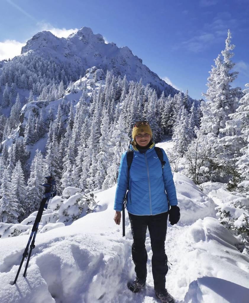 Nádherná zimná turistika na Veľký Rozsutec