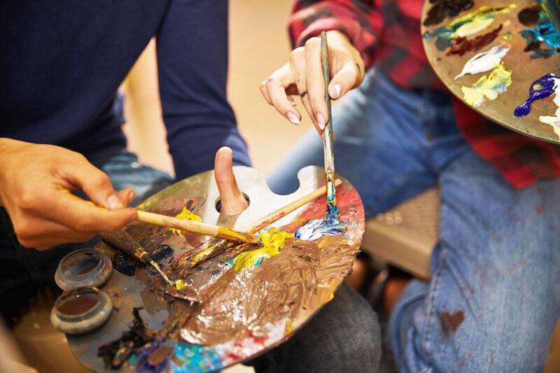 Namalovany darcek na valentina, kurz kreslenia, maliarske vecery