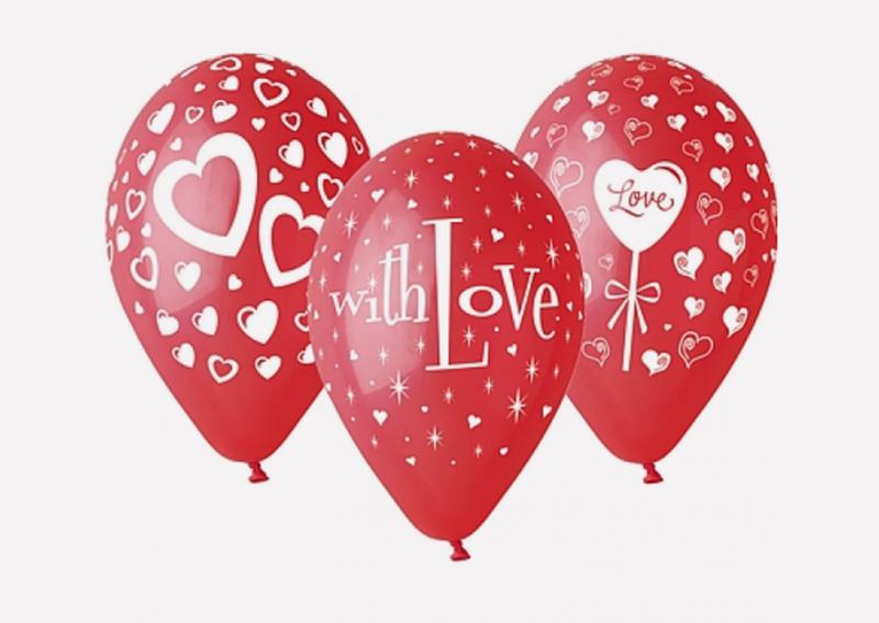 Prezradíme vám tipy na voňavé valentínske darčeky, balony-v-tvare-srdca