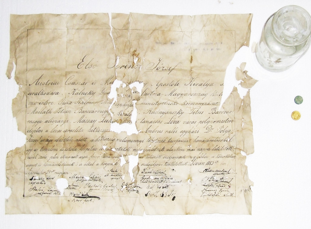 listina Synagóga Levice