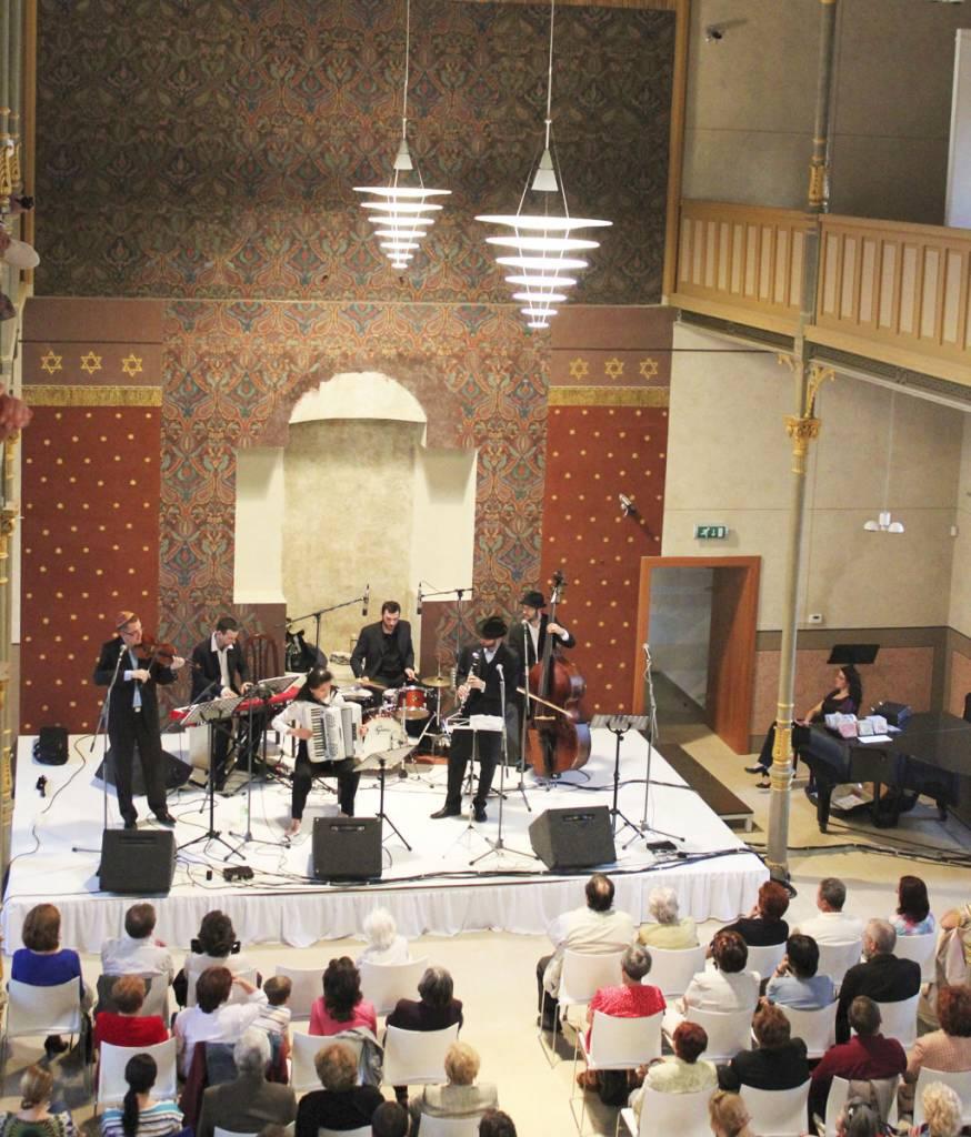koncert v Synagóge, Levice