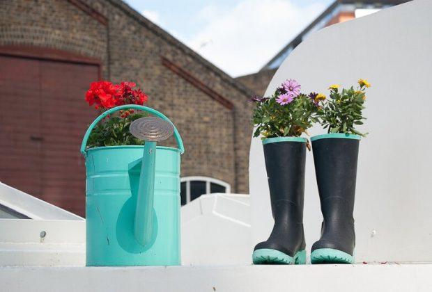 Jar sa hlási a čaká nás úprava okolia domu, Čo musíte urobiť v záhrade v marci, exterier zahrada
