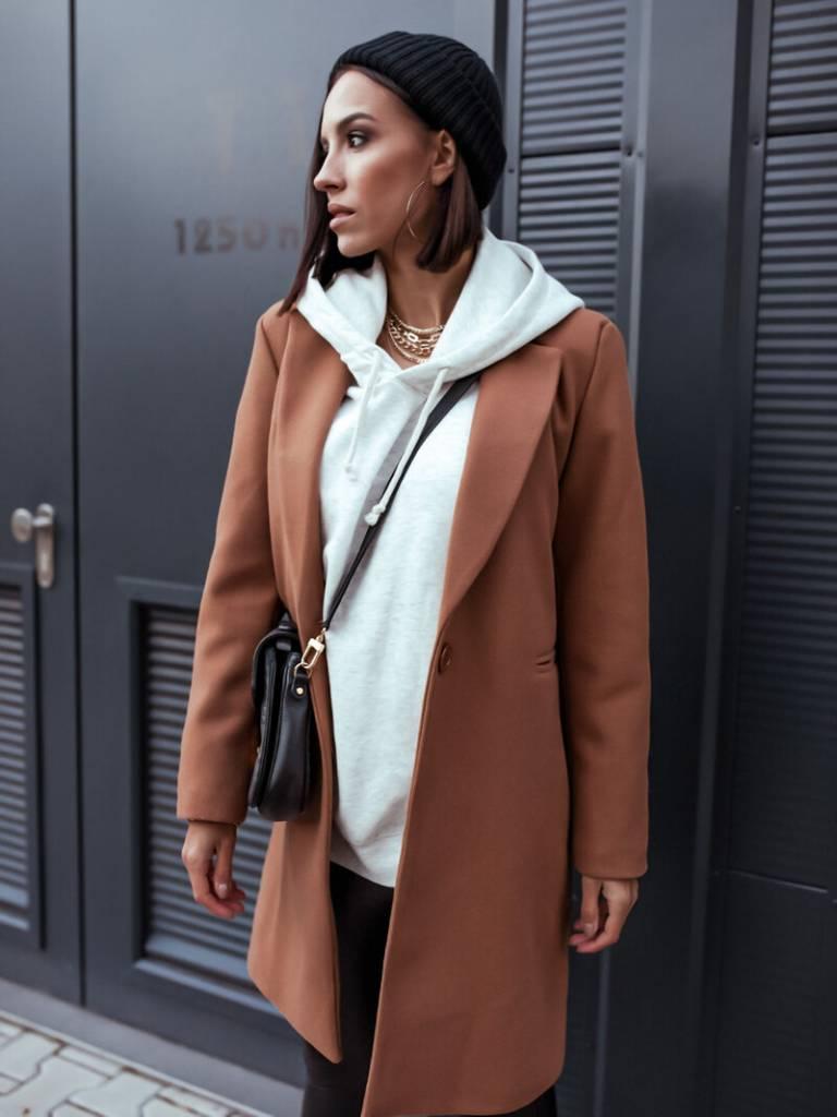 6 kúskov elegantne a šik, Dámsky kabát, elegantná čierna klasika alebo výrazná farba, erika fashion, oblecenie, moda